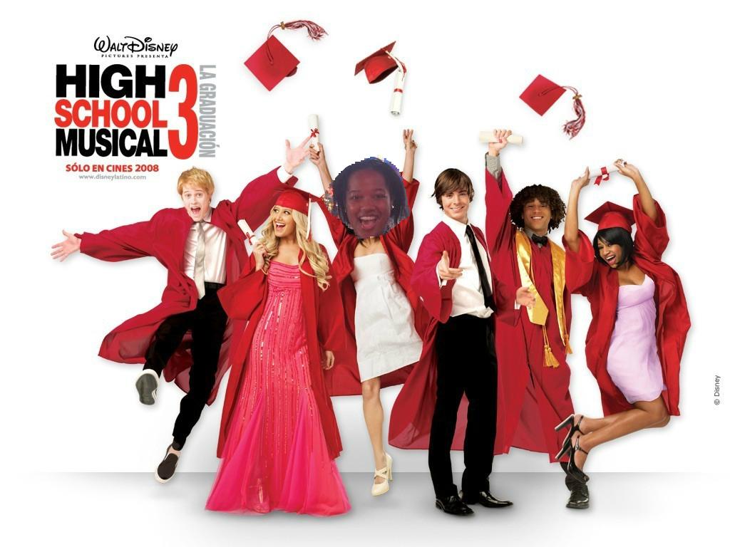 Отличная молодёжная сумка по сериалу High School Musical